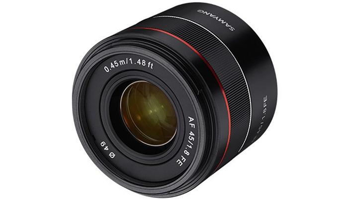 samyang 45mm f/1.8 af lens
